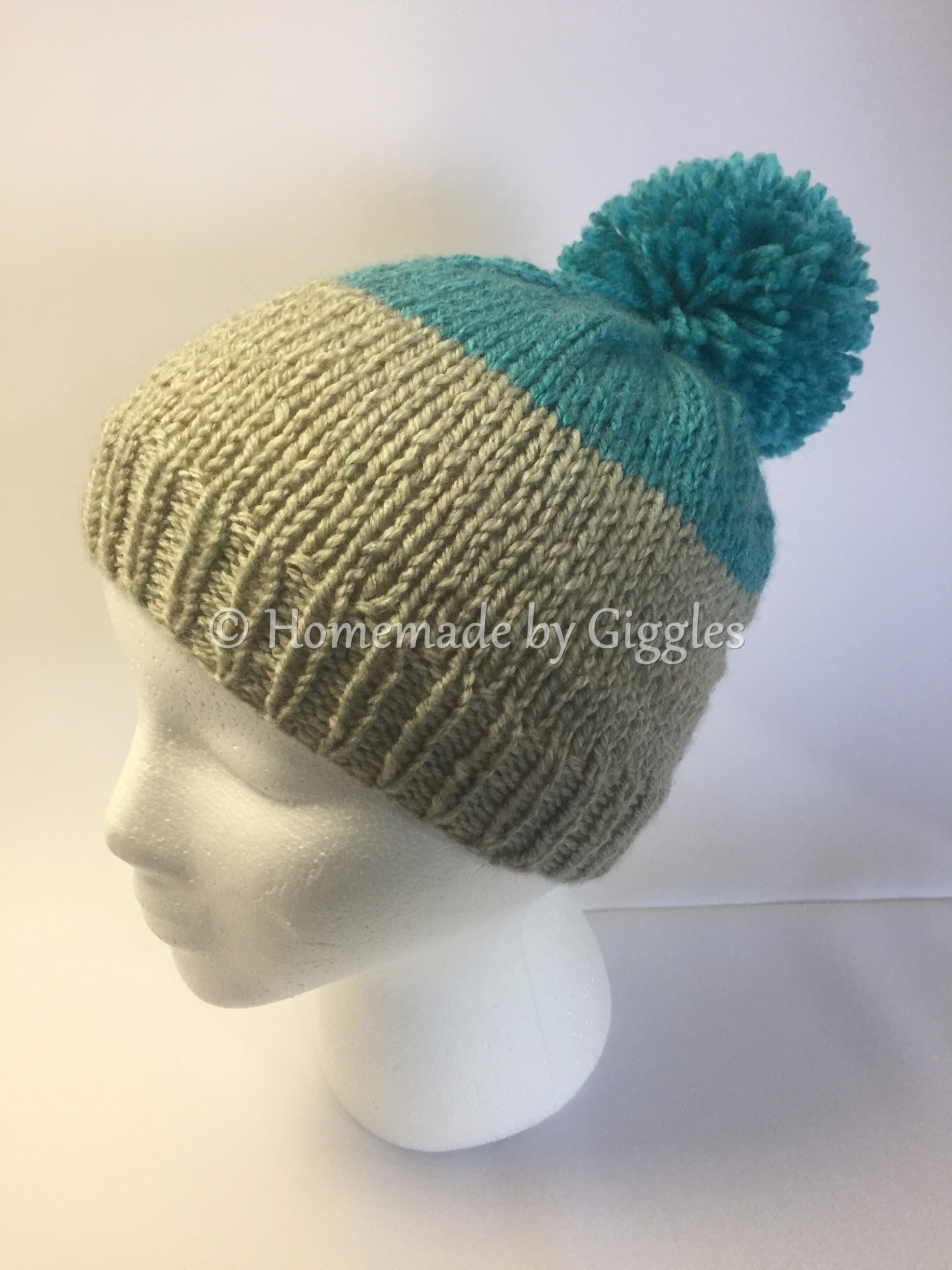 Basic Knit Hat Pattern – Homemade by Giggles